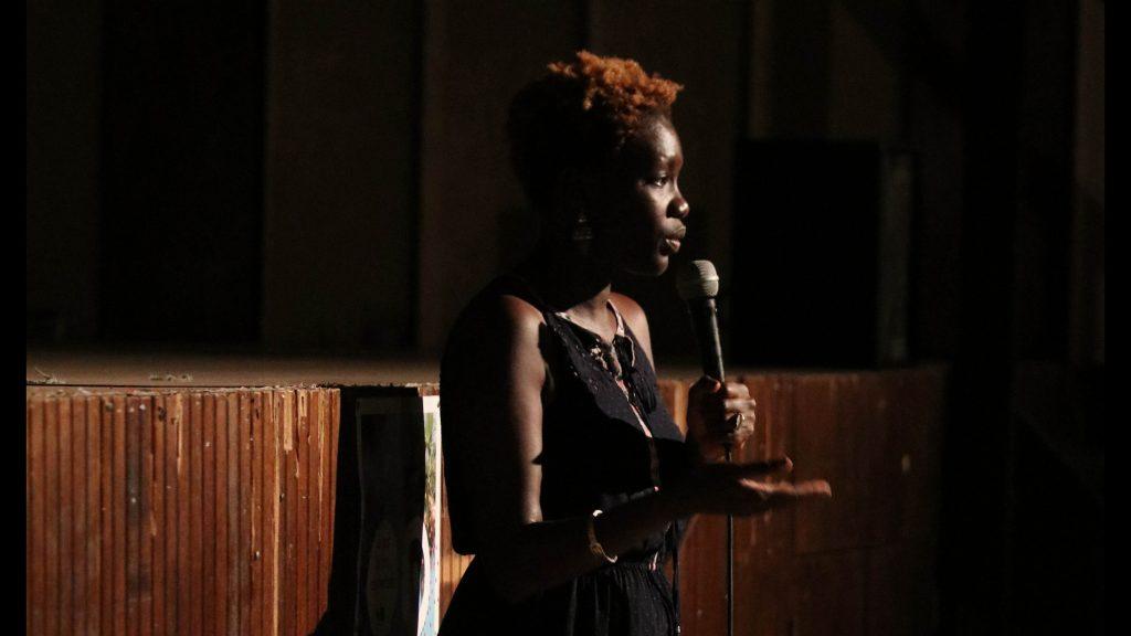 Rokhaya Diallo à Saint Laurent du Maroni
