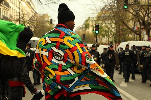 Les Chroniqueurs Guyanais marchent vers la place de la République