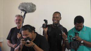 l'équipe des chroniqueurs sur le départ pour la COP21