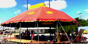 chapiteau du cirque association palhaço
