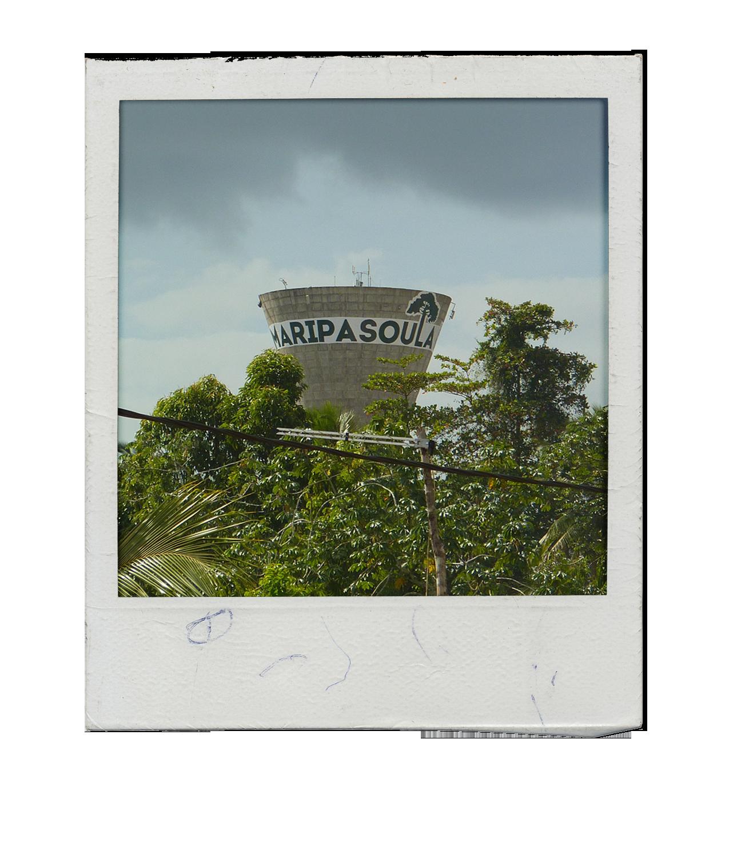 photo polaroid du chateau de maripasoula