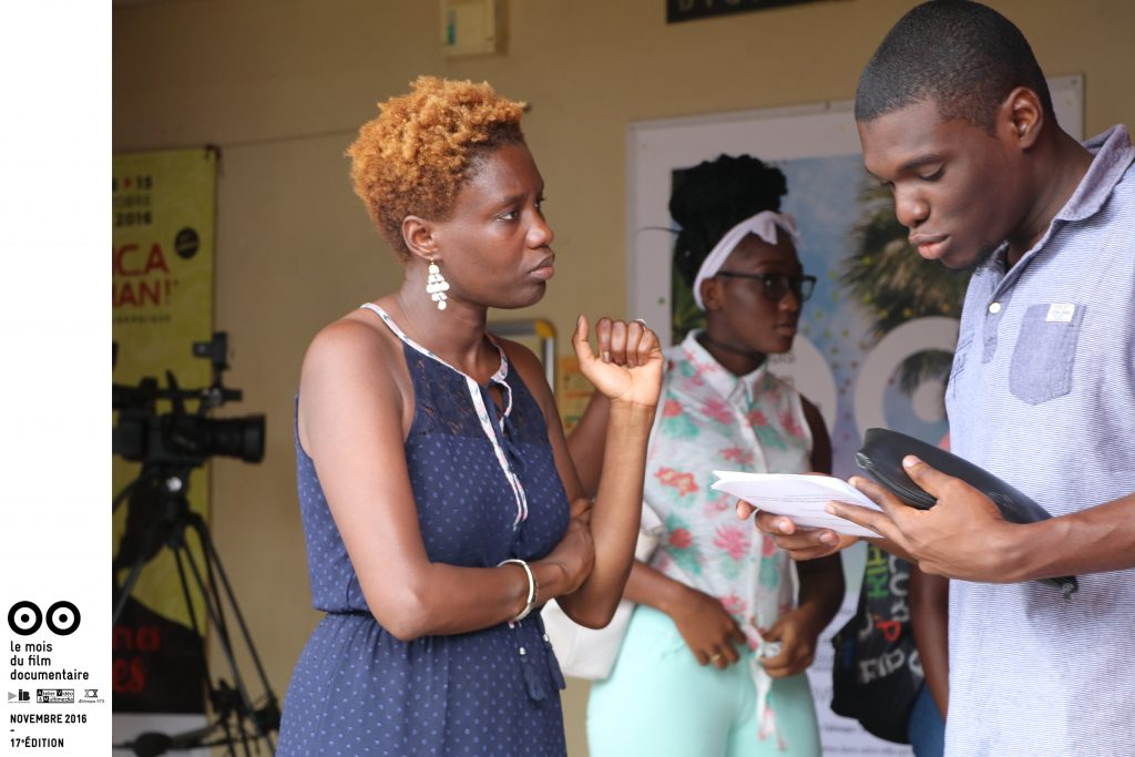 """Séance rencontre entre les lycéens de Saint-Laurent-du-Maroni et Rokhaya Diallo autour du film documentaire""""Les Marches de la Liberté"""""""