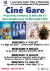Ciné Gare - Projection Cinéma gratuites à la Gare Routière